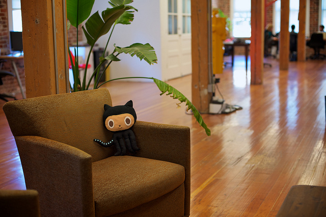 'GitHub office' by Dave Fayram